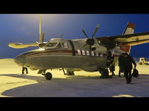 30-летний L-410 2АОАО | Рейс Котлас - Архангельск