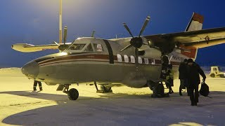 30 years old L-410 | Kotlas - Arkhangelsk | 2AOAO