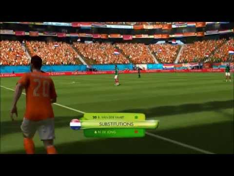 NETHERLANDS - MEXICO | 2014 FIFA World Cup (All Goals Highlights HD)