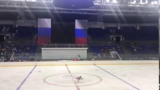 11 09 2016 контрольные прокаты сборной России по фигурному катанию 9