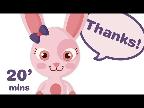 LEARN TO SAY PLEASE AND THANK YOU + Toddler educational songs