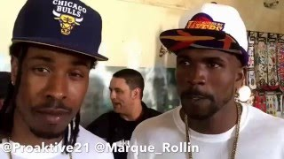 Aktive & GQ Address Grape Street Watts Crip Gang Affiliation In Battle Rap & Possible Backlash