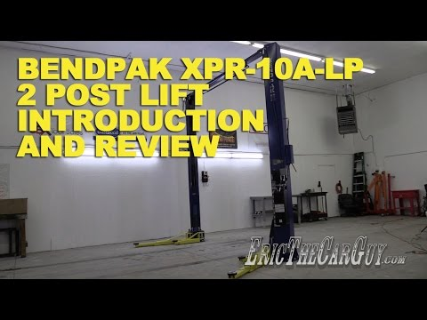 BendPak XPR-10A-LP 2 Post Lift Introduction and Review ...