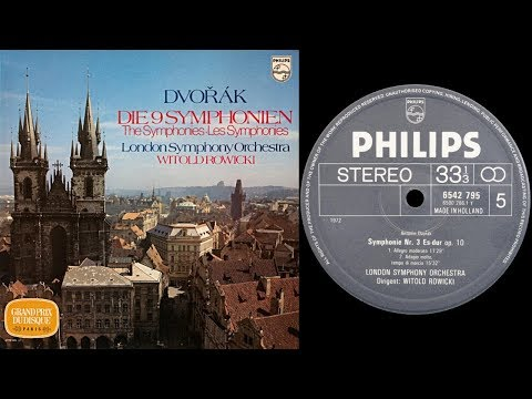 Dvo?ak - Symphony No.3 in E flat major (Rowicki) (vinyl: Ortofon Xpression, Graham Slee, CTC 301)