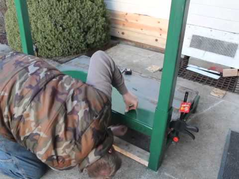 Homemade Portable Sawmill Build - From Start to Finish Part1