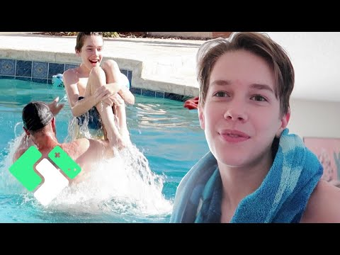 A Hot Weekend In The Pool | Clintus.tv