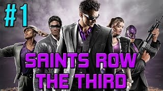 Saints Row The Third Co Op Walkthrough Part 1 - When Good Heists Go Bad
