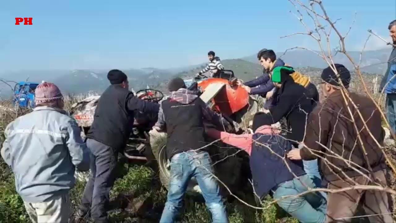 Download Pamukova da traktör devrildi 2 yaralı