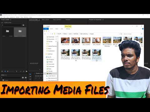 Premiere Pro: Importing Media Files And Other Assets