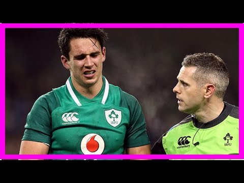 Ireland star joey carbery faces race to be fit for six nations after fracturing his left wrist in n
