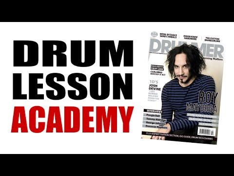 Drum Lesson Academy - DRUMMER Mag Issue 97 Maximising your Foot Technique
