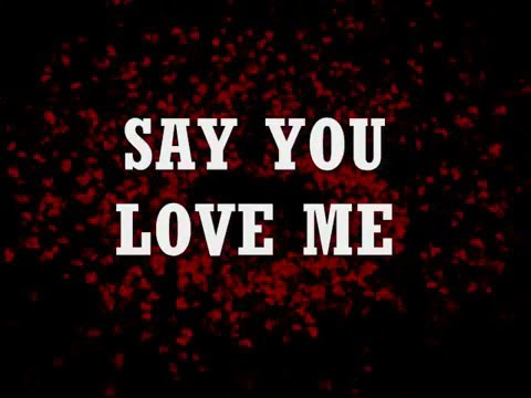 SAY YOU LOVE ME - Patty Austin (Lyrics)