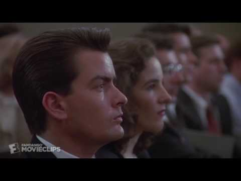 Wall Street 45 Movie CLIP   Greed Is Good 1987 HD