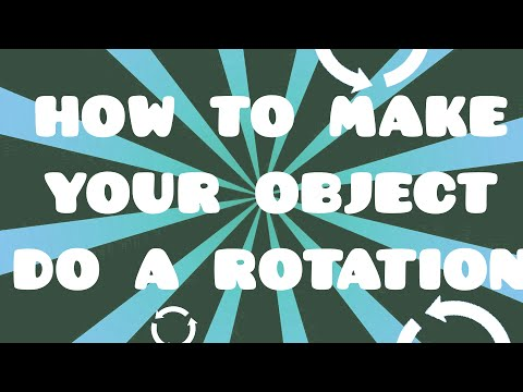 How to make objects rotate in a level | Geometry Dash Tutorial