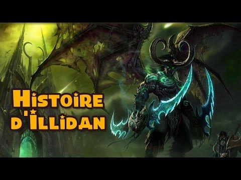 Histoire d'Illidan Stormrage