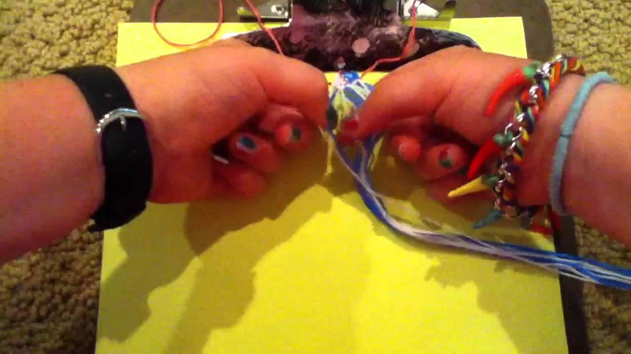 how to make friendship bracelets video