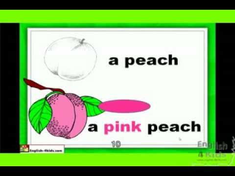 Bài 5  Các loại quả » Tiếng Anh trẻ em theo chủ đề » Tiếng Anh trẻ em 2