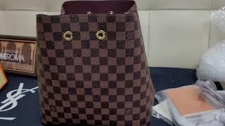 원로마 레플리카 루이비통 네오노에 다미에 패턴 여자가방…