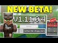 Mcpe 1.11.0.4 beta village & pillage! minecraft pocket edition new hero villager & trades! android