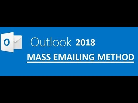 How to send a blind email in outlook 2020