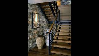 Unique Wood Stairs Ideas For Beautiful Home, Wooden Staircase Designs,Wood Stairs Design Ideas #1