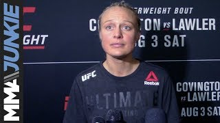 UFC on ESPN 5:Miranda Granger post-fight interview