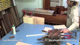 06 How To Build A Bed • Gluing Up The Legs
