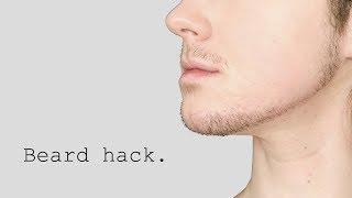 ftm: Beard hack (EVEN PRE-T!).