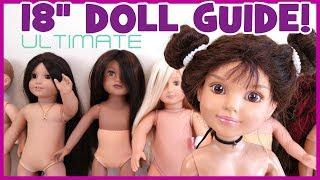 "The BEST 18"" Doll Comparison Review | BlueprintDIY Kids"