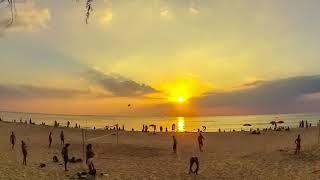 Пляж Карон в феврале. Пхукет. Таймлапс