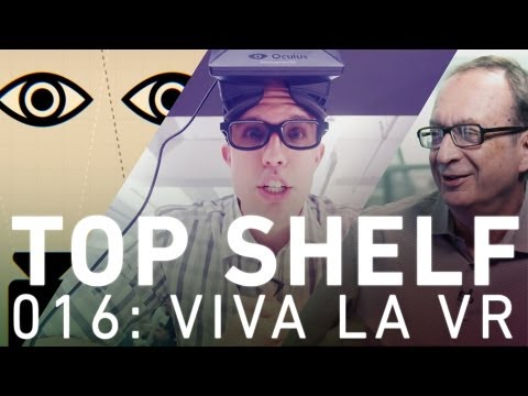 Top Shelf: virtual reality, 3D, and the movies and games of the future