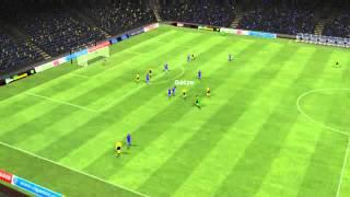 בוקה ג'וניורס vs דרוטמנוד - Gotze goal, Boca Juniors vs Dortmund