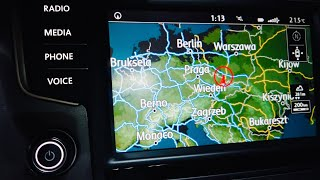 Free maps update for Volkswagen Discover Media and Pro