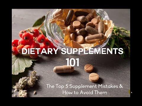 Supplements 101: How to Supplement Smarter for CFS