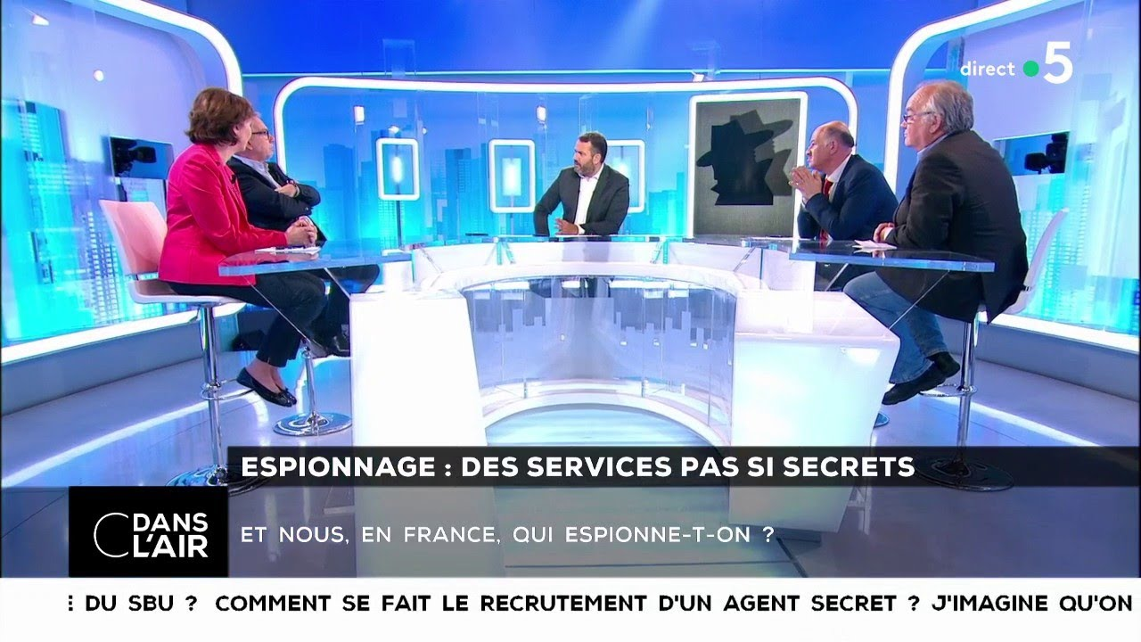 many styles reliable quality affordable price Espionnage : des services pas si secrets - Les questions SMS #cdanslair  02.06.2018