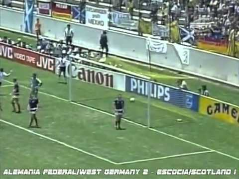 goles del mundial de México 1986