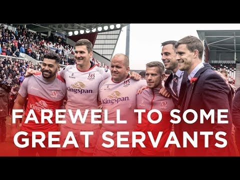 Farewell to some great servants