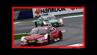 Red Bull Ring DTM: Fourth-straight win boosts Rast's title hopes | k production channel