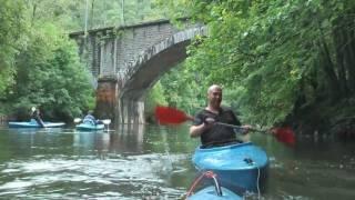 Dagje kanoën GIB van Houyet naar Anseremme 21KM
