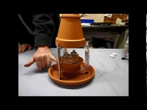 YouTube & Flower Pot Heater Overview.