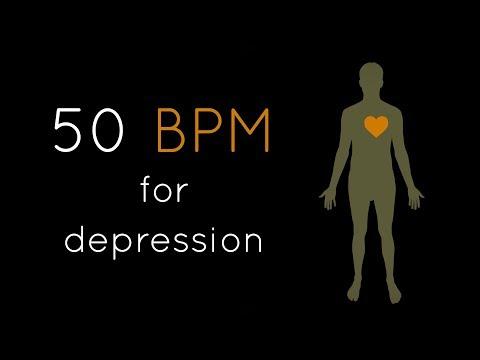 1h Heartbeat + Deep Bass (50 BPM) | Relaxing Meditation Music