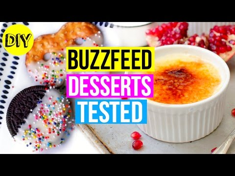 BuzzFeed Desserts Tested EP 2: DIY Valentine's Day Treats!