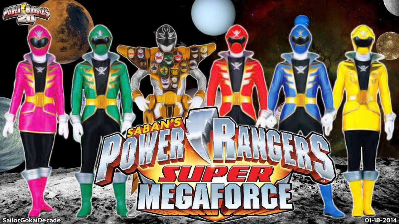 Super megaforce legacy power rangers new episodes power - Power rangers megaforce jungle fury ...