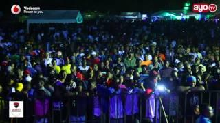 Kitu Rich Mavoko amefanya kwenye stage ya Nyama Choma Festival