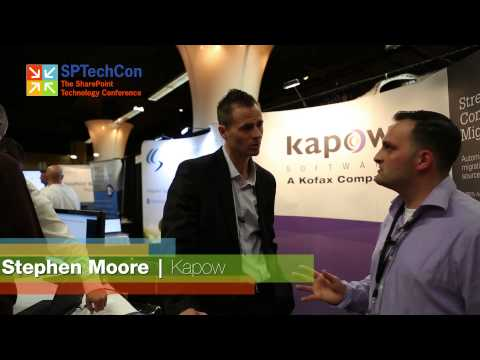 SPTechCon Sponsor Interview: Stephen Moore | Kapow