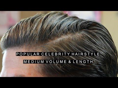 Mens Hair 2017 | Popular Celebrity Hairstyle | Medium Volume & Length
