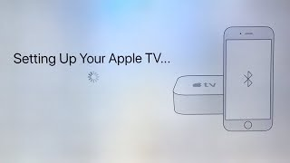 How to automatically Set Up your Apple TV 4K with your iPhone iPad iPod