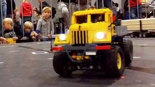 monster truck kraz 255 b 6x6 in lego b