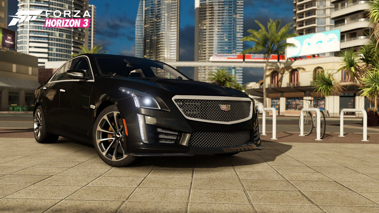 2016 Cadillac CTS-V Spotlight in Forza Horizon 3 - YouTube