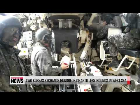 North and South Korea exchange artillery fires on NLL
